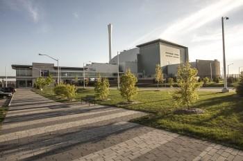Durham York Energy Centre building