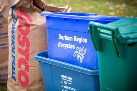 Blue box, Green Bin and Yard Waste