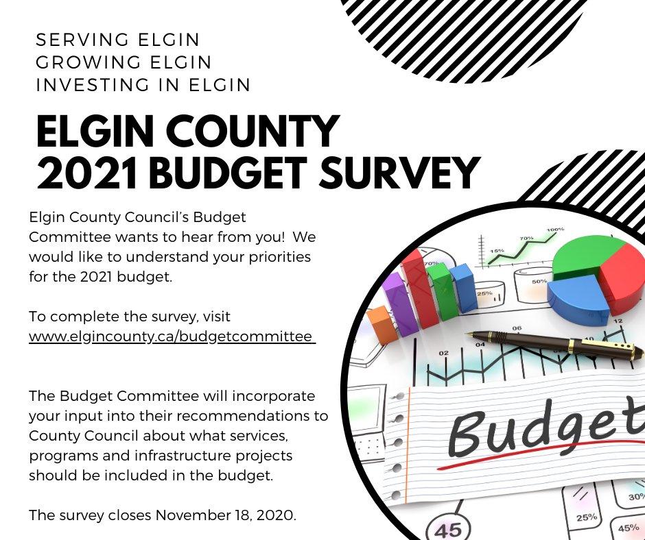 Elgin County 2021 Budget Survey