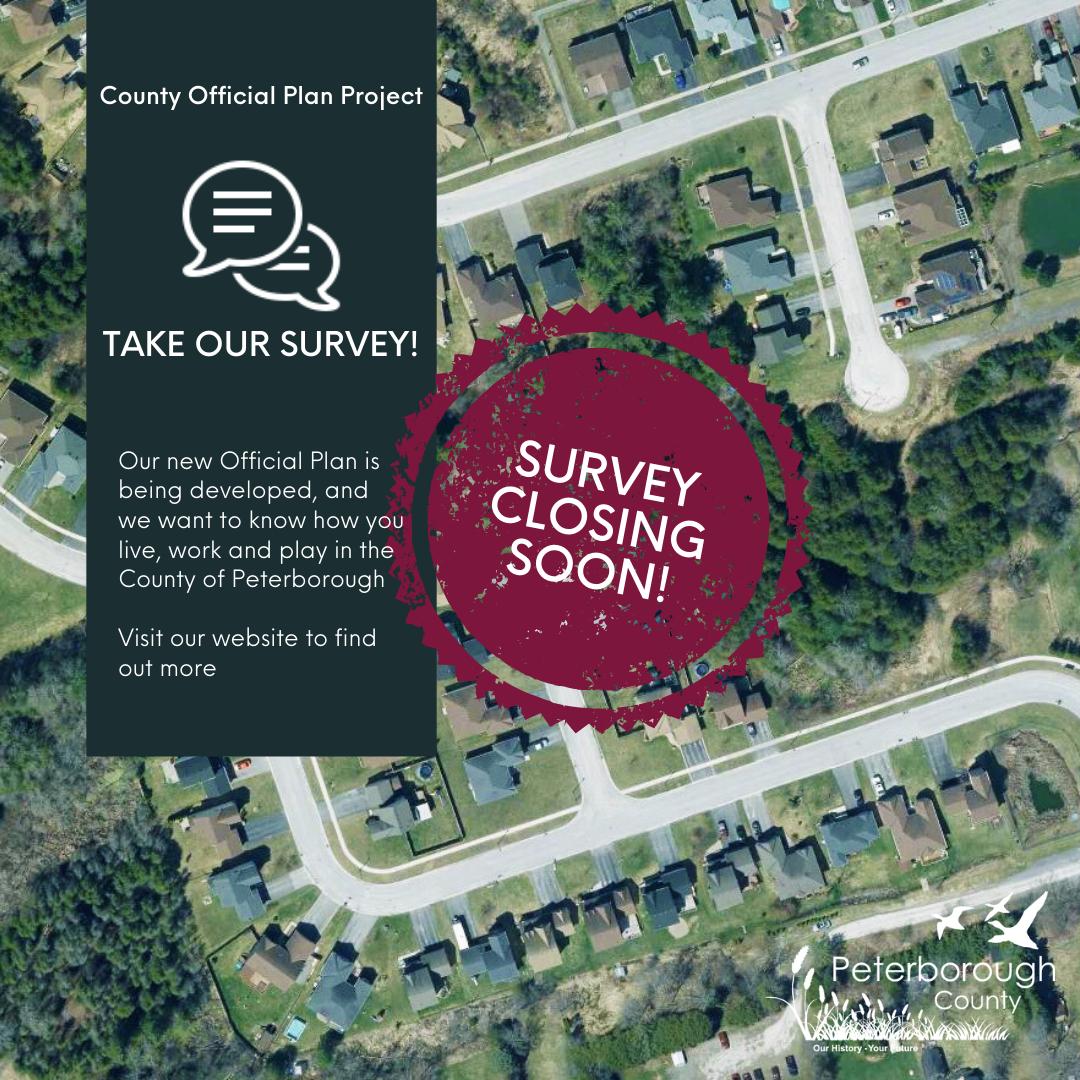 Survey Closing Soon