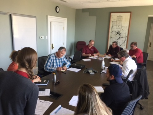 Waste Management Advisory Committee brainstorming session