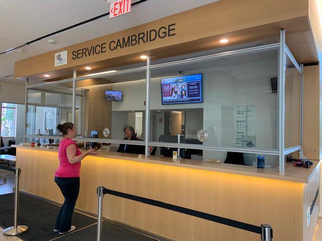 Service Cambridge Counter