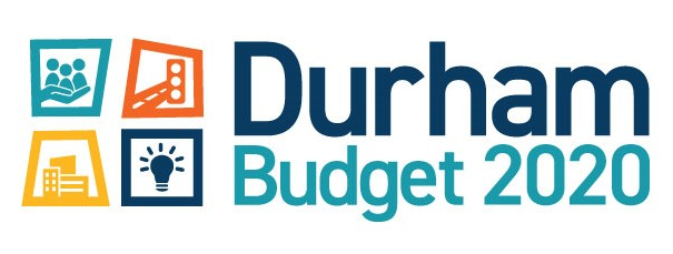 2020 Durham Budget logo