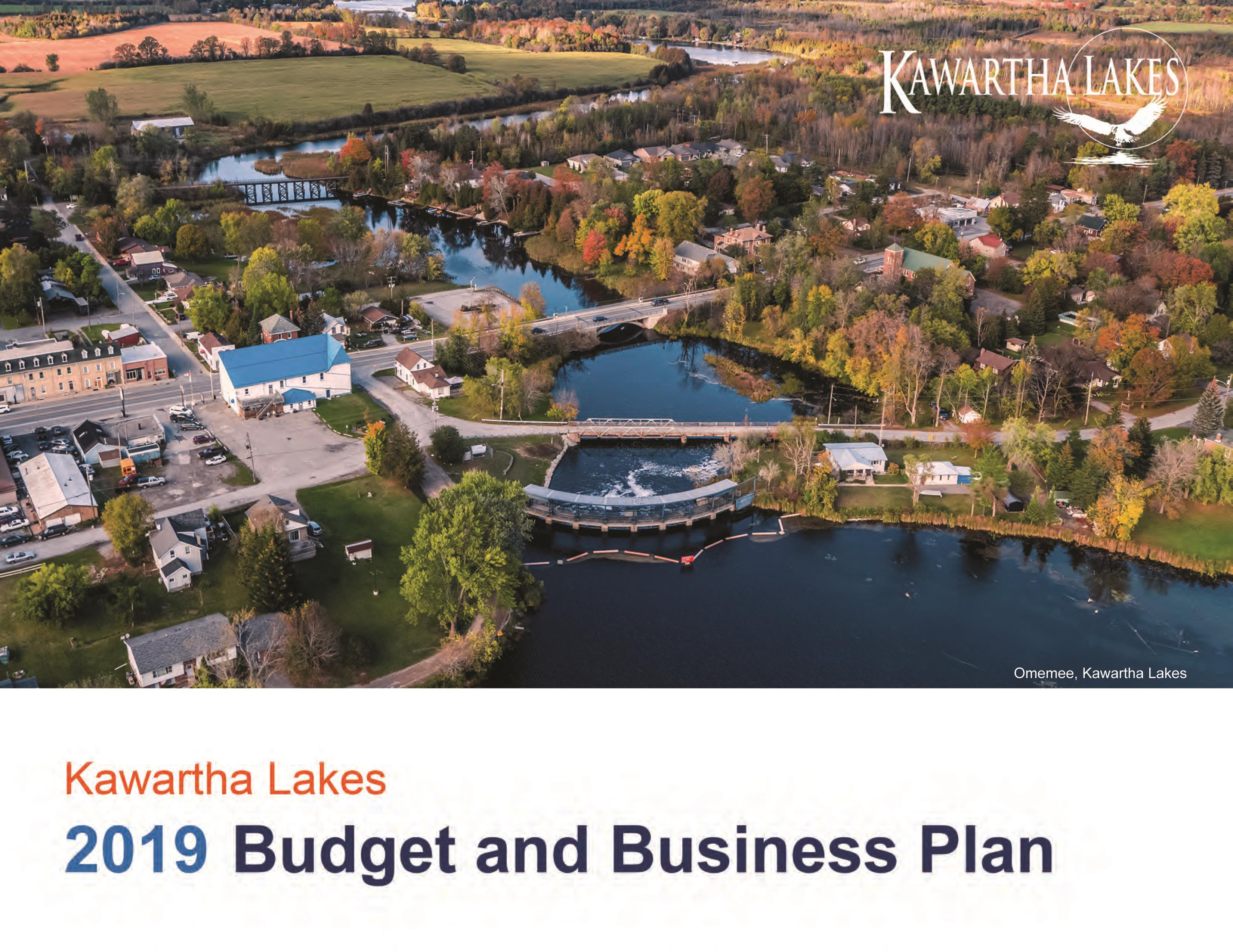 2019 Budget and Business Plan Cover