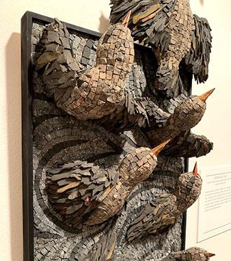 Storytelling in Stone exhibit