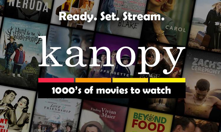 Kanopy website homepage