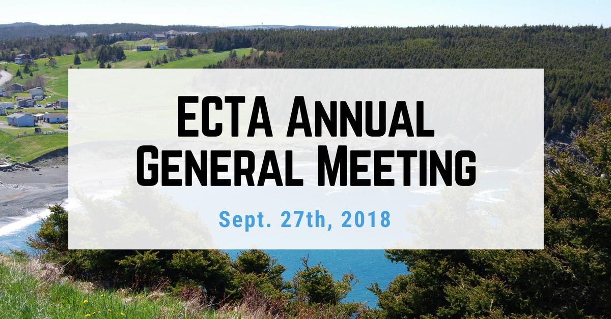 2018 ECTA Annual General Meeting