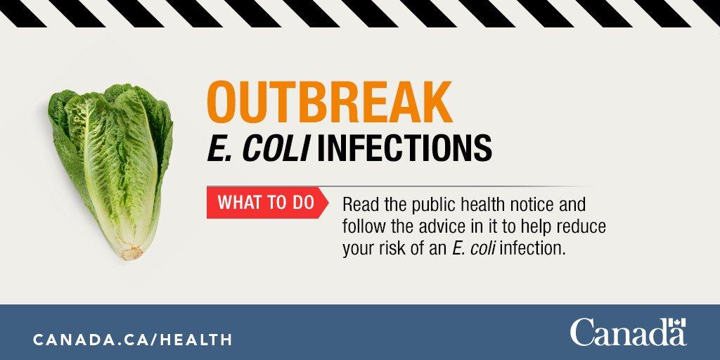Health Canada - E.coli Outbreak