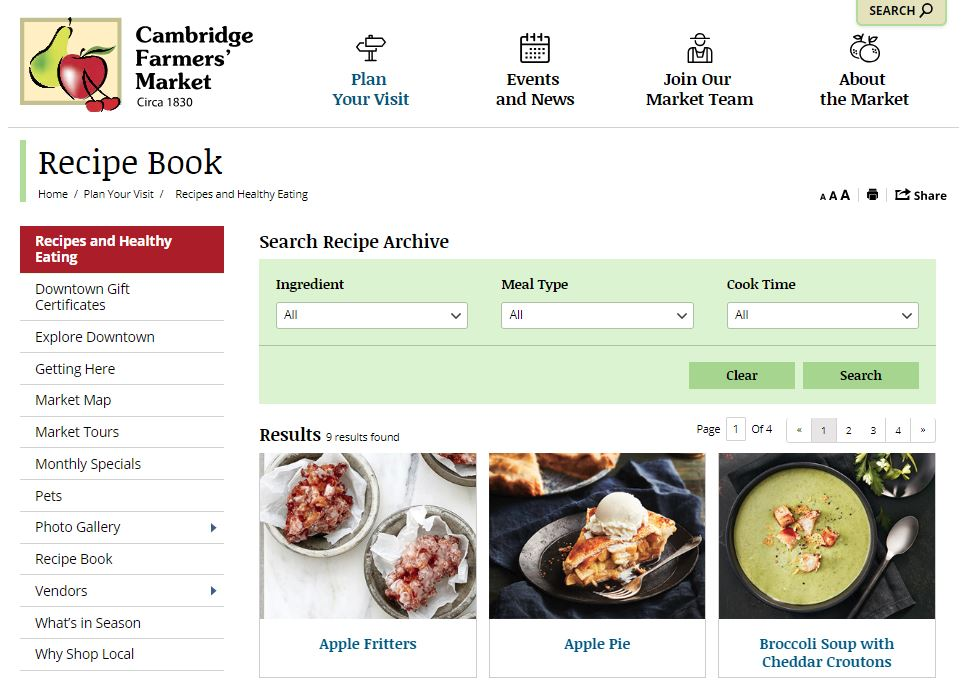 Recipe Book screenshot