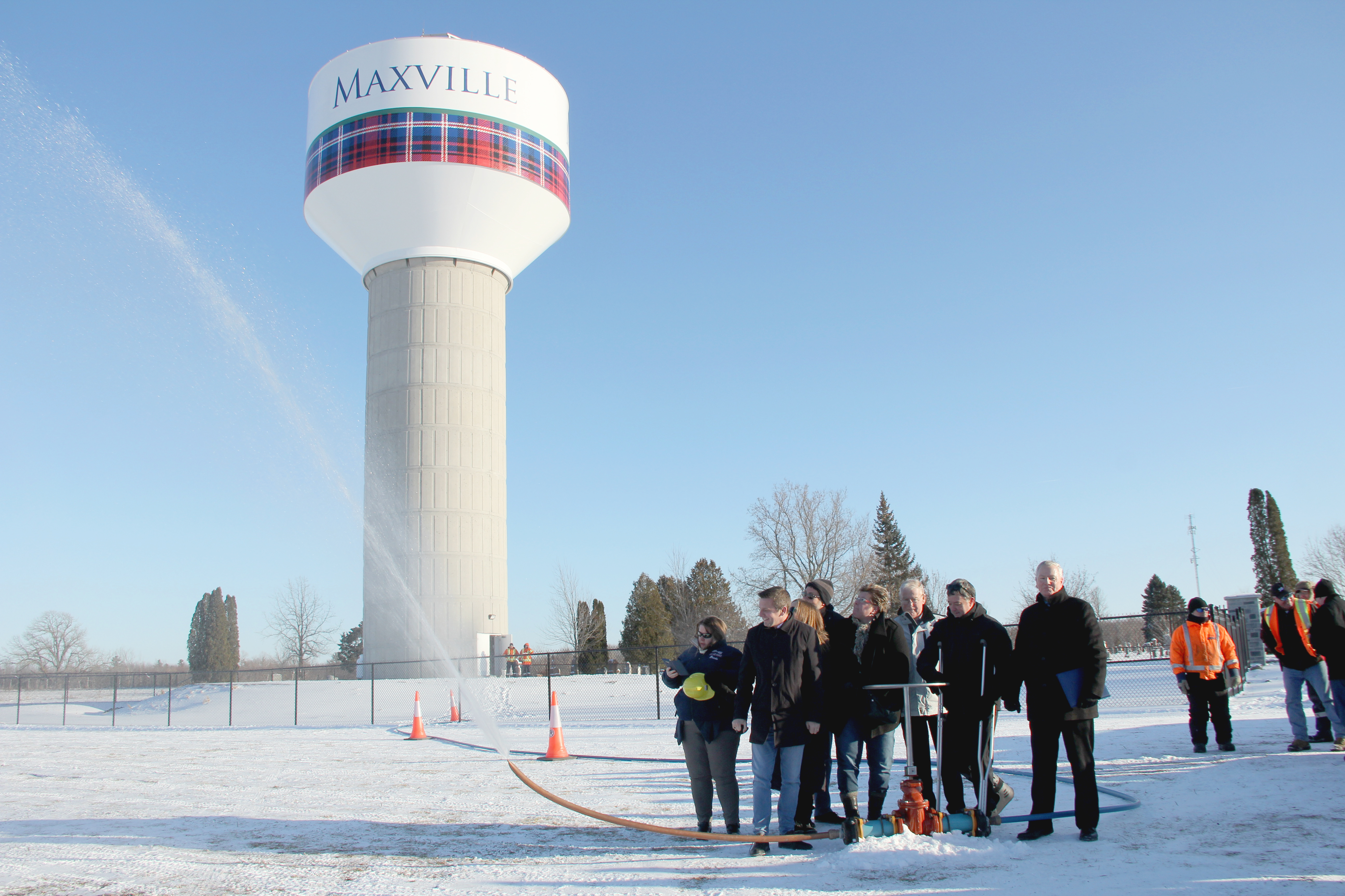 Maxville Water Project