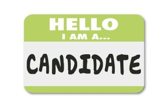 Hello I am a candidate