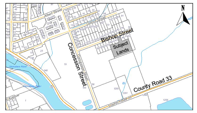 Bishop Street Key Map