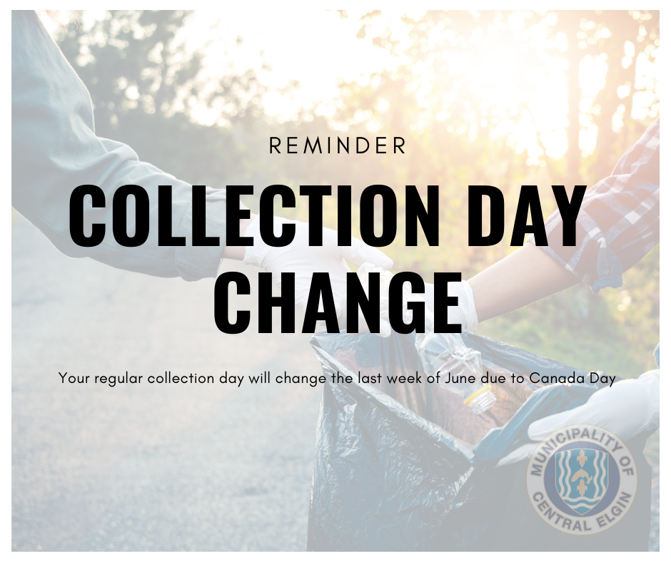 Canada Day Collection Change