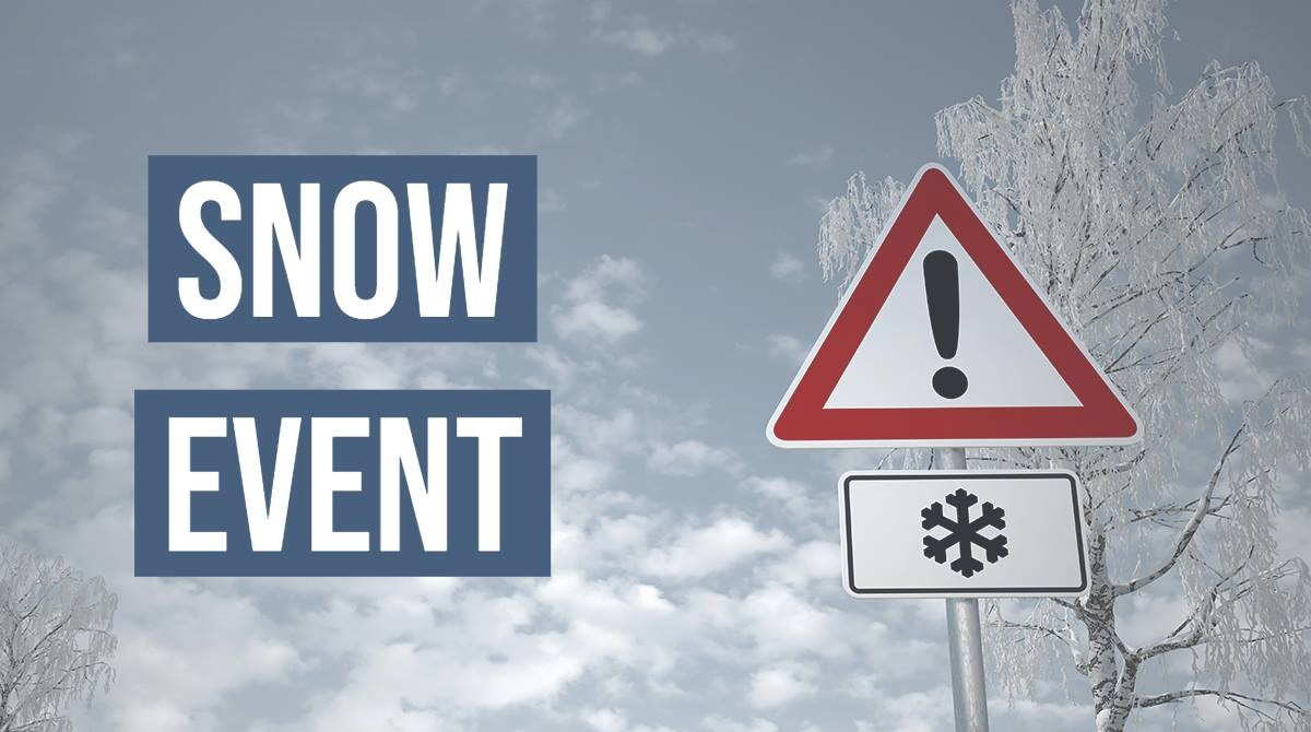 Snow event extended
