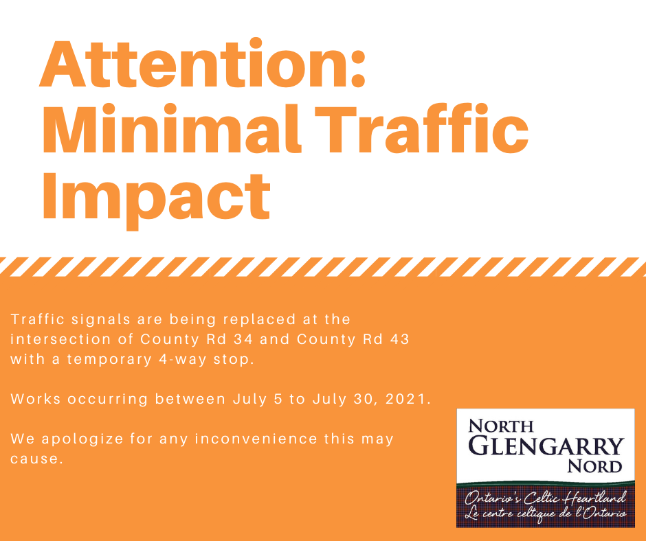 Attention: Minimal Traffic Impact