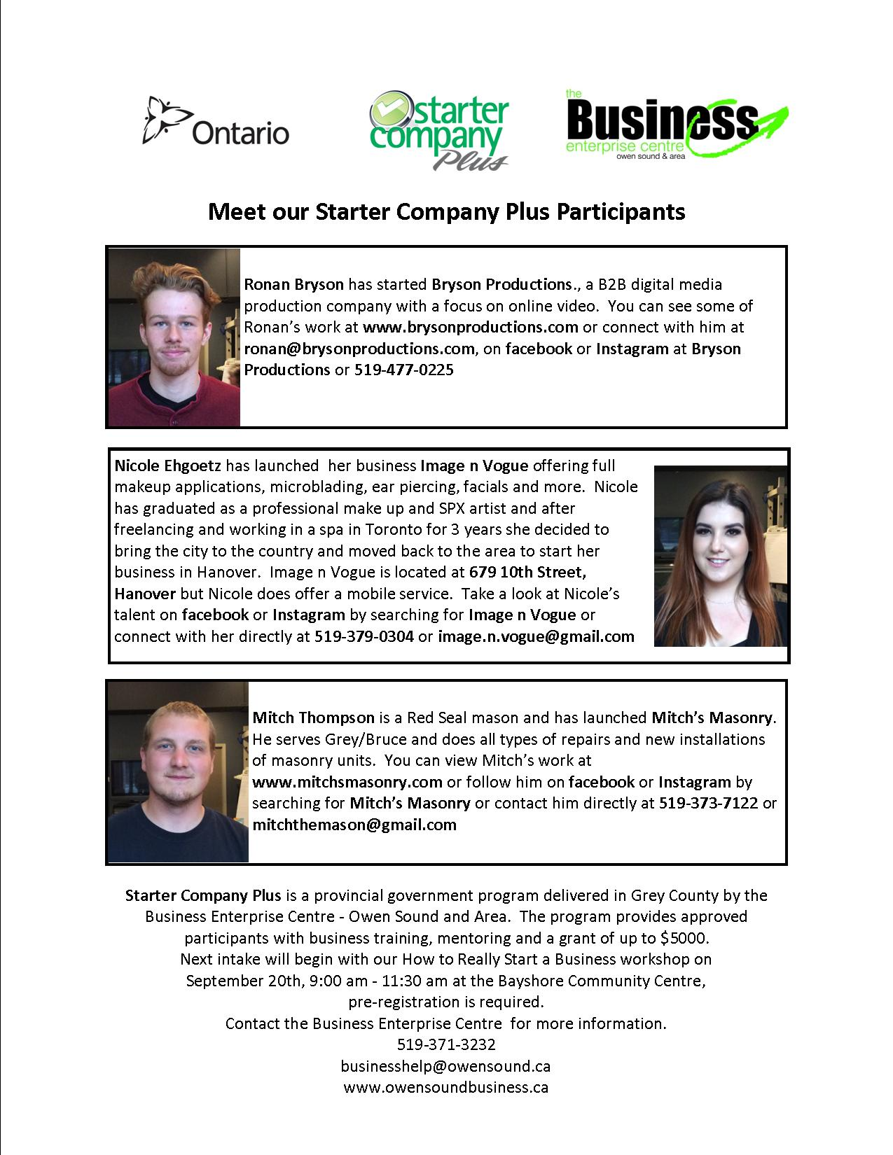 All Participants Feature Starter Co