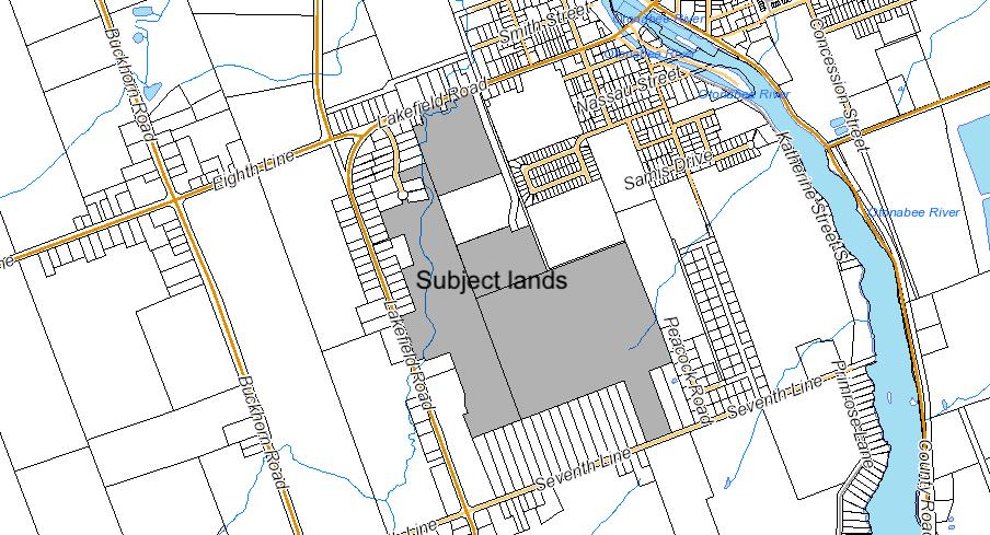 Lakefield South Key Map