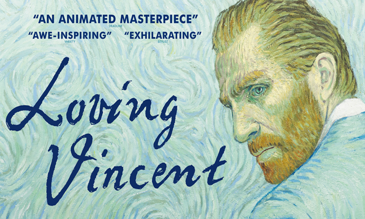 Movie poster for Loving Vincent