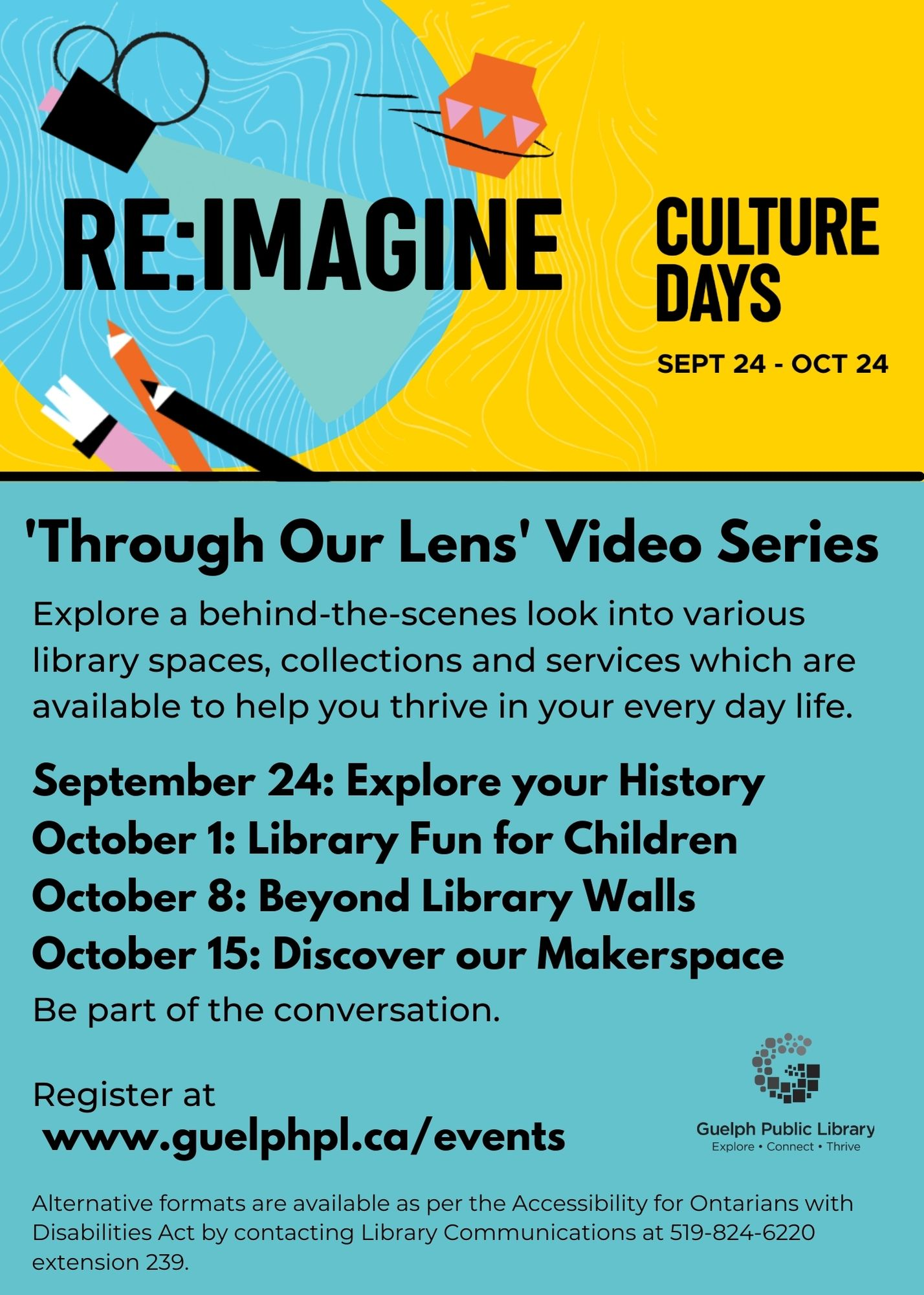 Culture Days 2021 Through Our Lens