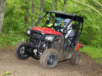 Atv in forest