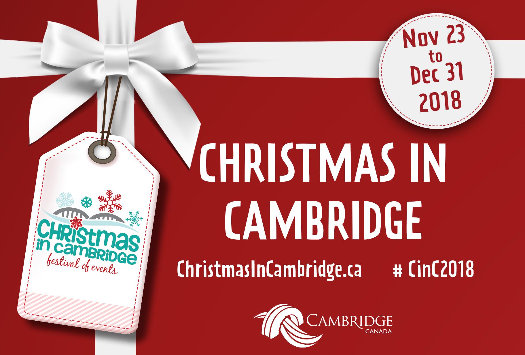Christmas in Cambridge 2018
