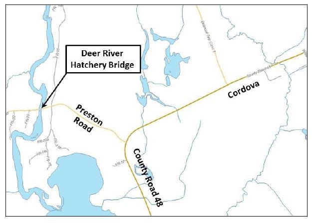 Deer River Hatchery Bridge