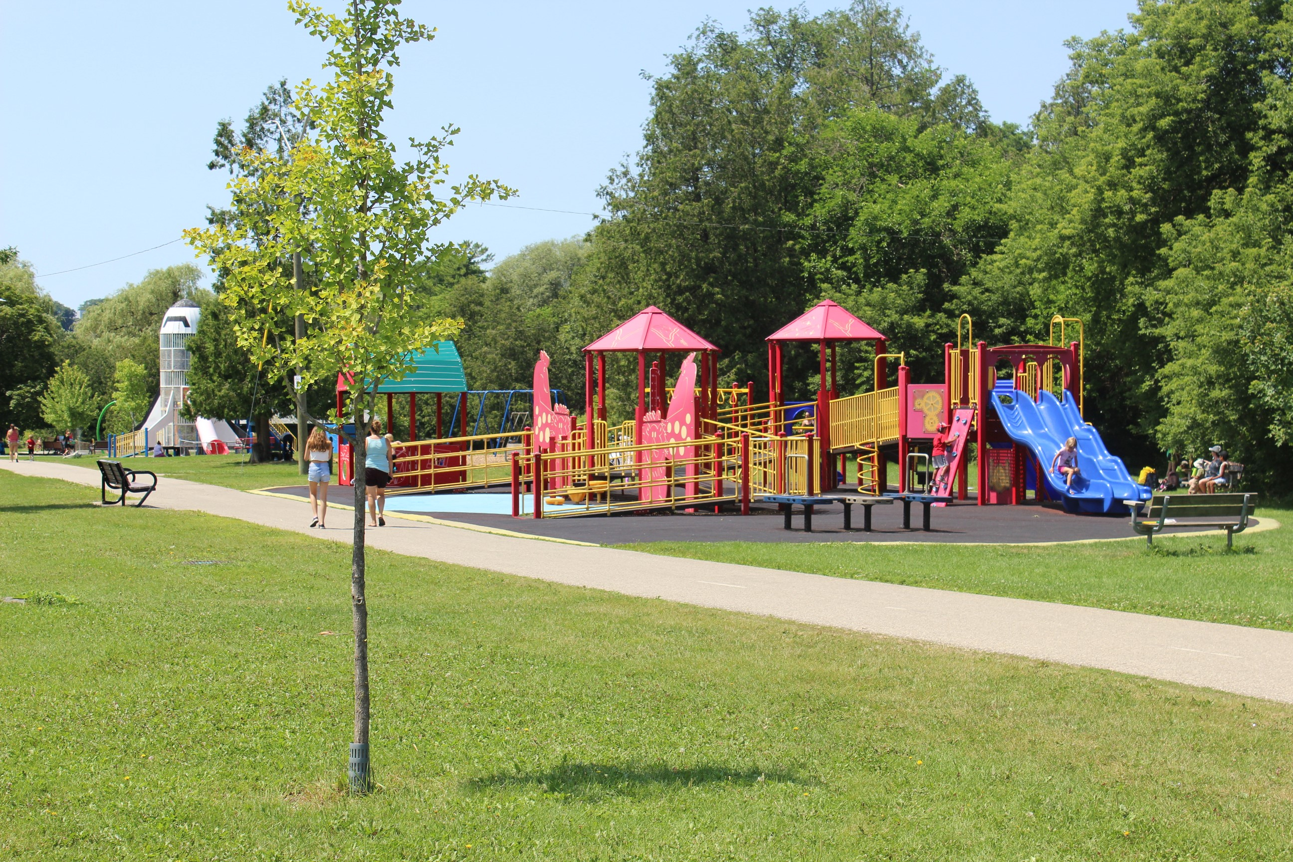 Churchill Park playground