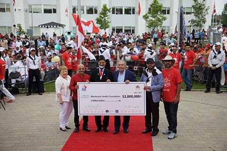 Mackenzie Health Foundation receiving $2M from Ahmadiyya Muslim Jama'at (AMJ)