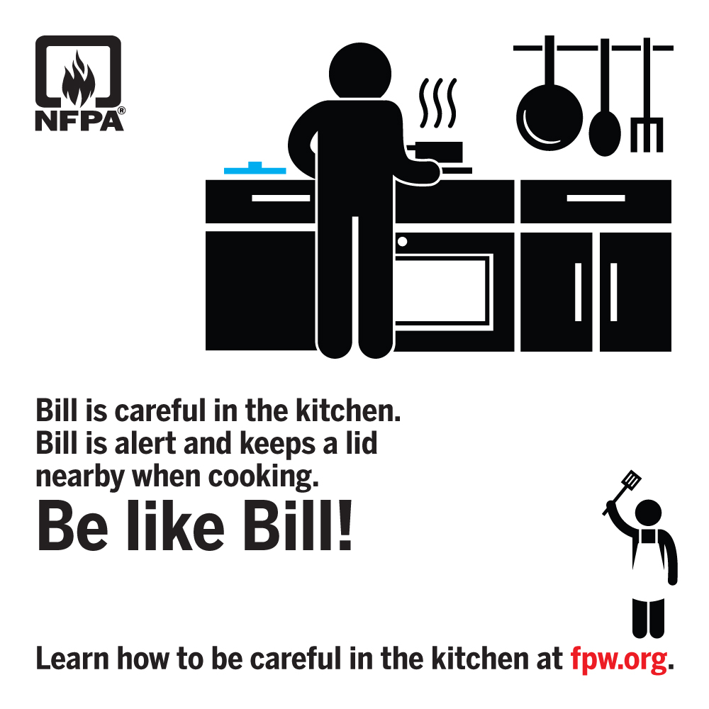 Fire Prevention Week - Be Alert