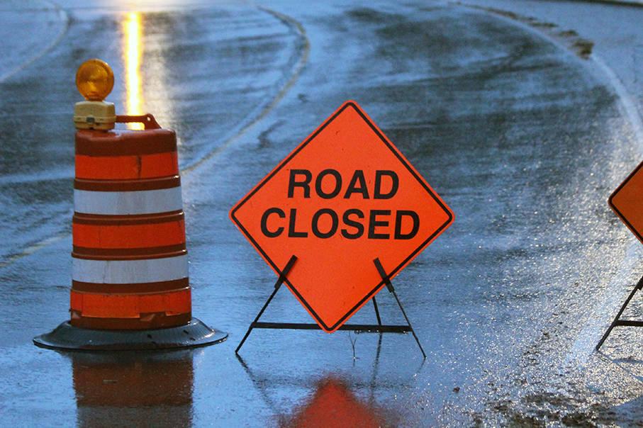 Road Closed - Harvey