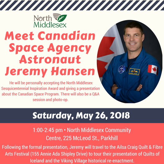 Meet Canadian Space Agency Astronaut Jeremy Hansen!