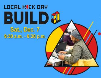 Local hack day build logo