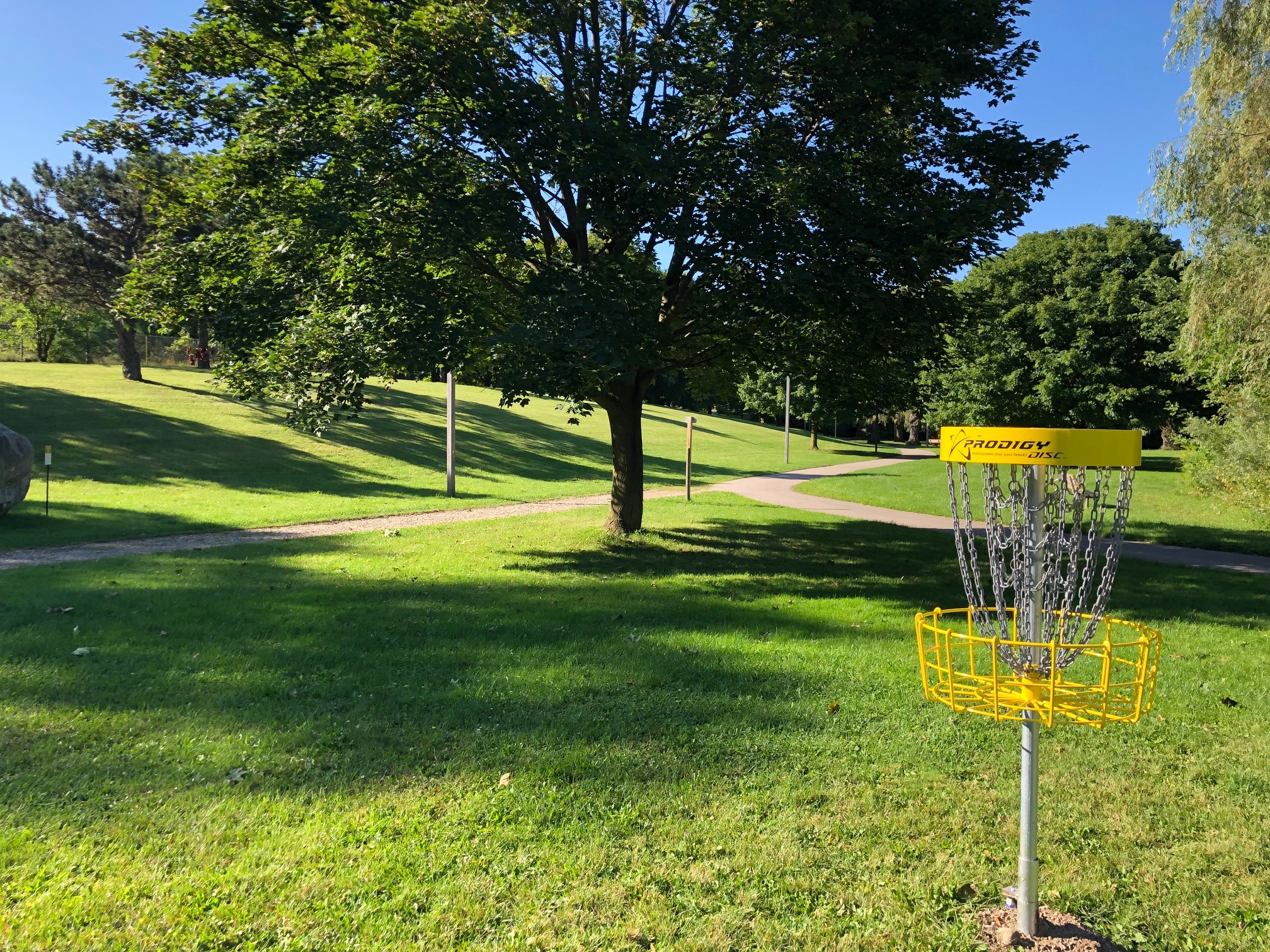 Disc Golf at Soper Park
