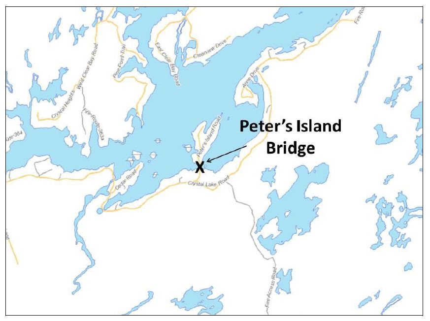 Peters Island Bridge