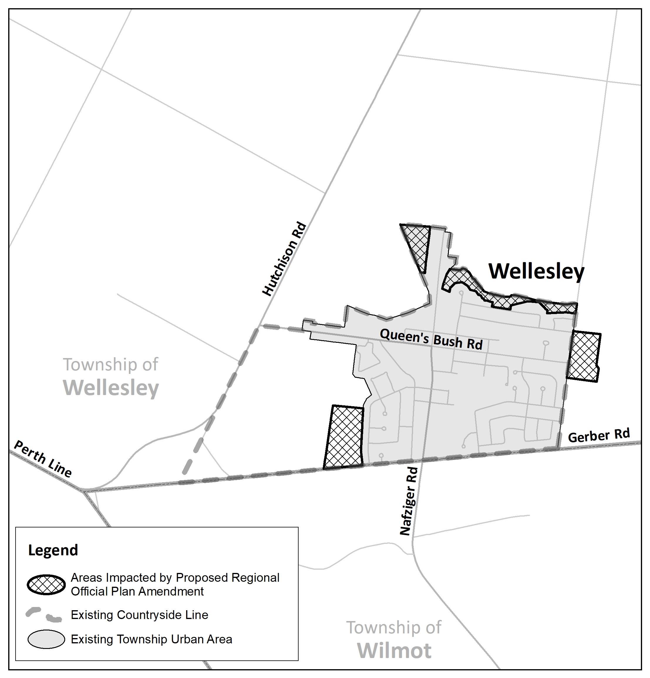Wellesley Map