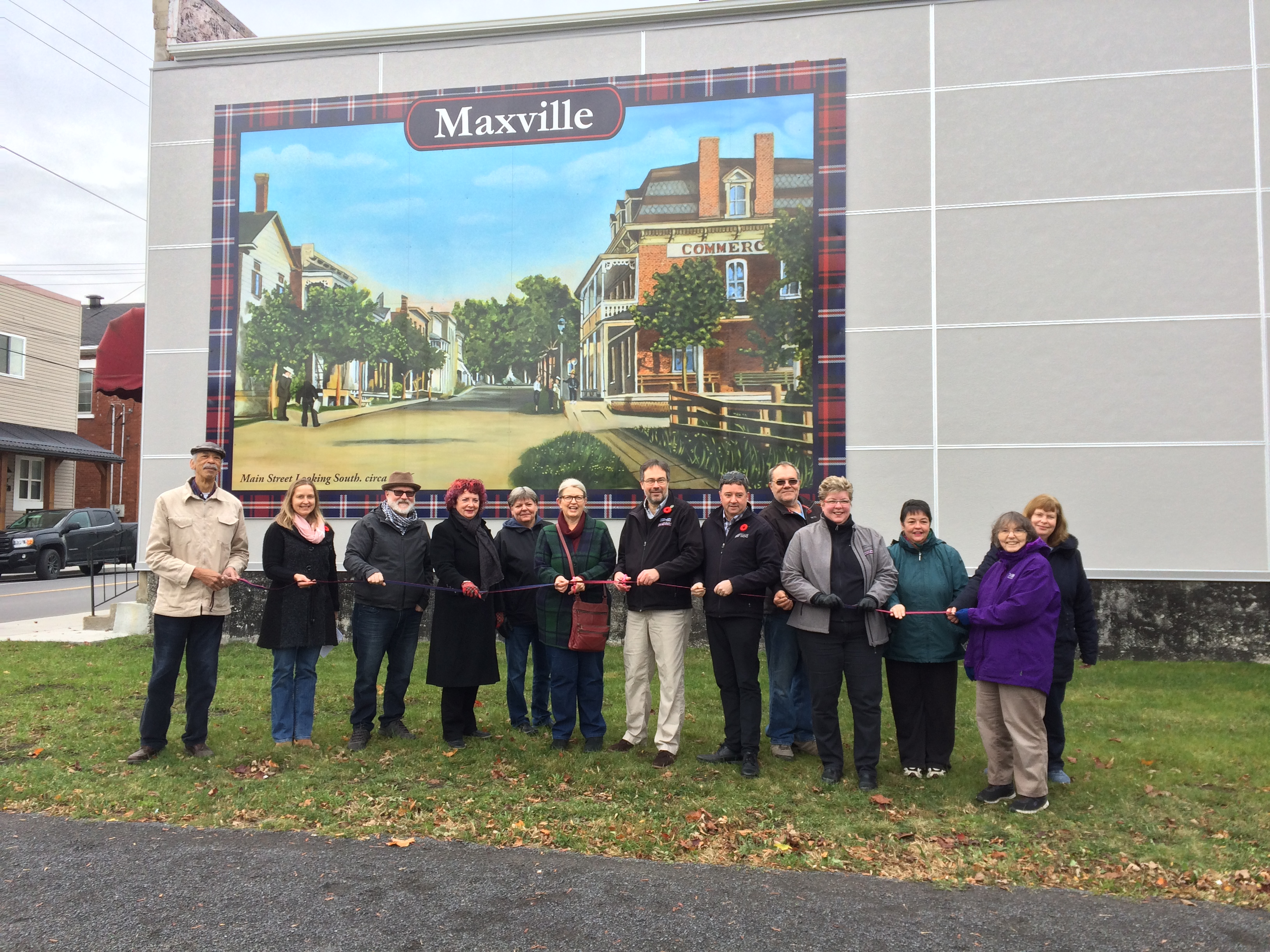 Unveiling of the King George Park Mural