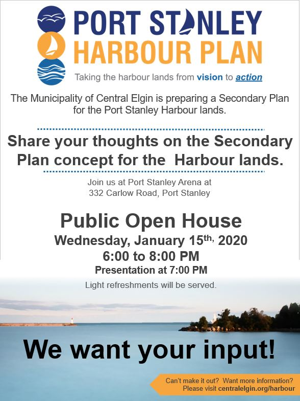 Public Open House Harbour Secondary Plan