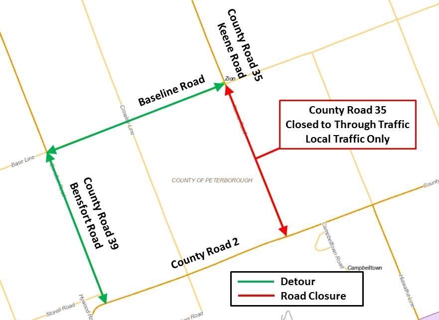 County Road 35 Closure