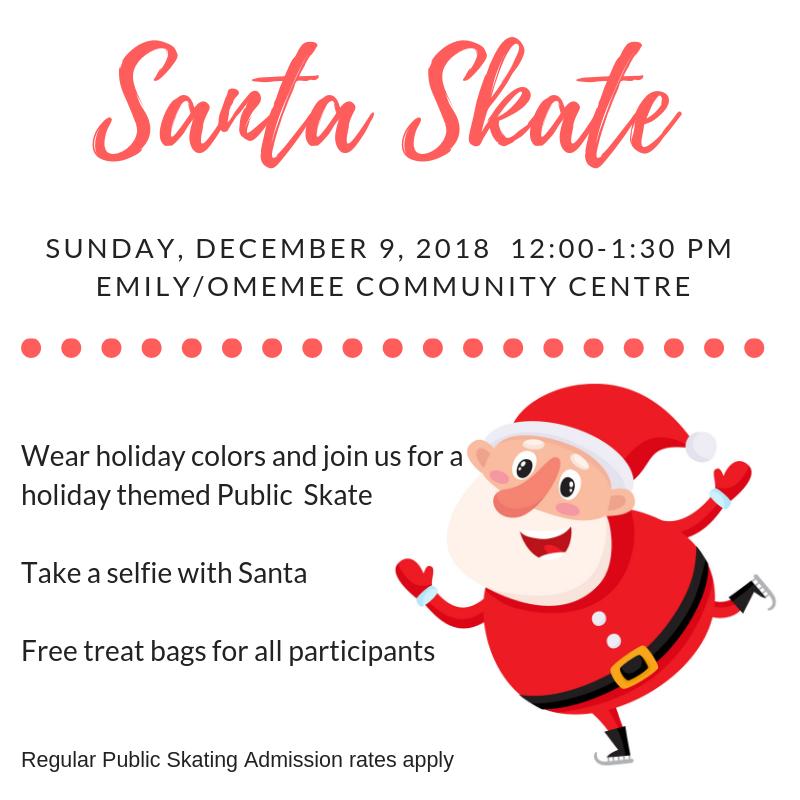 Santa Skate Poster