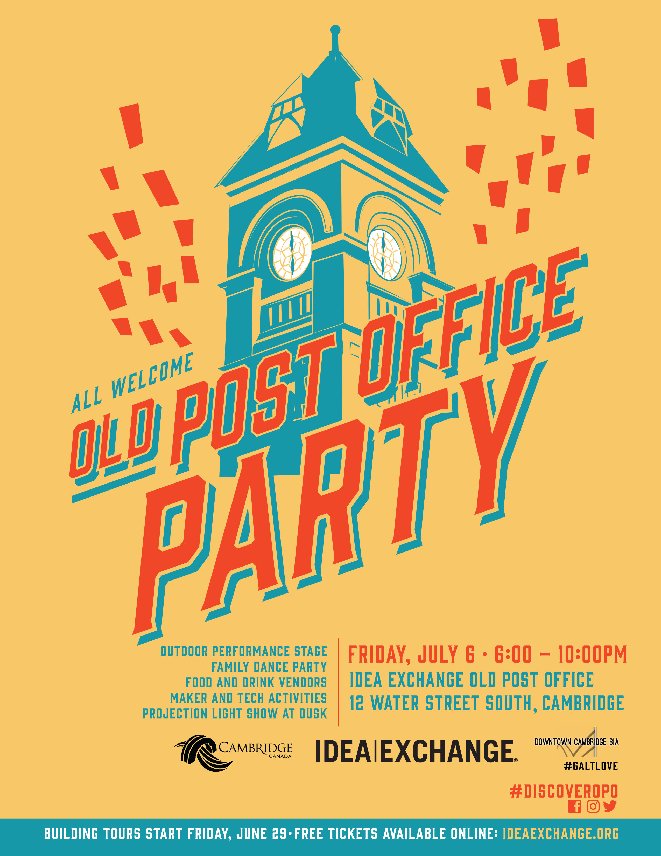 Old Post Office Party
