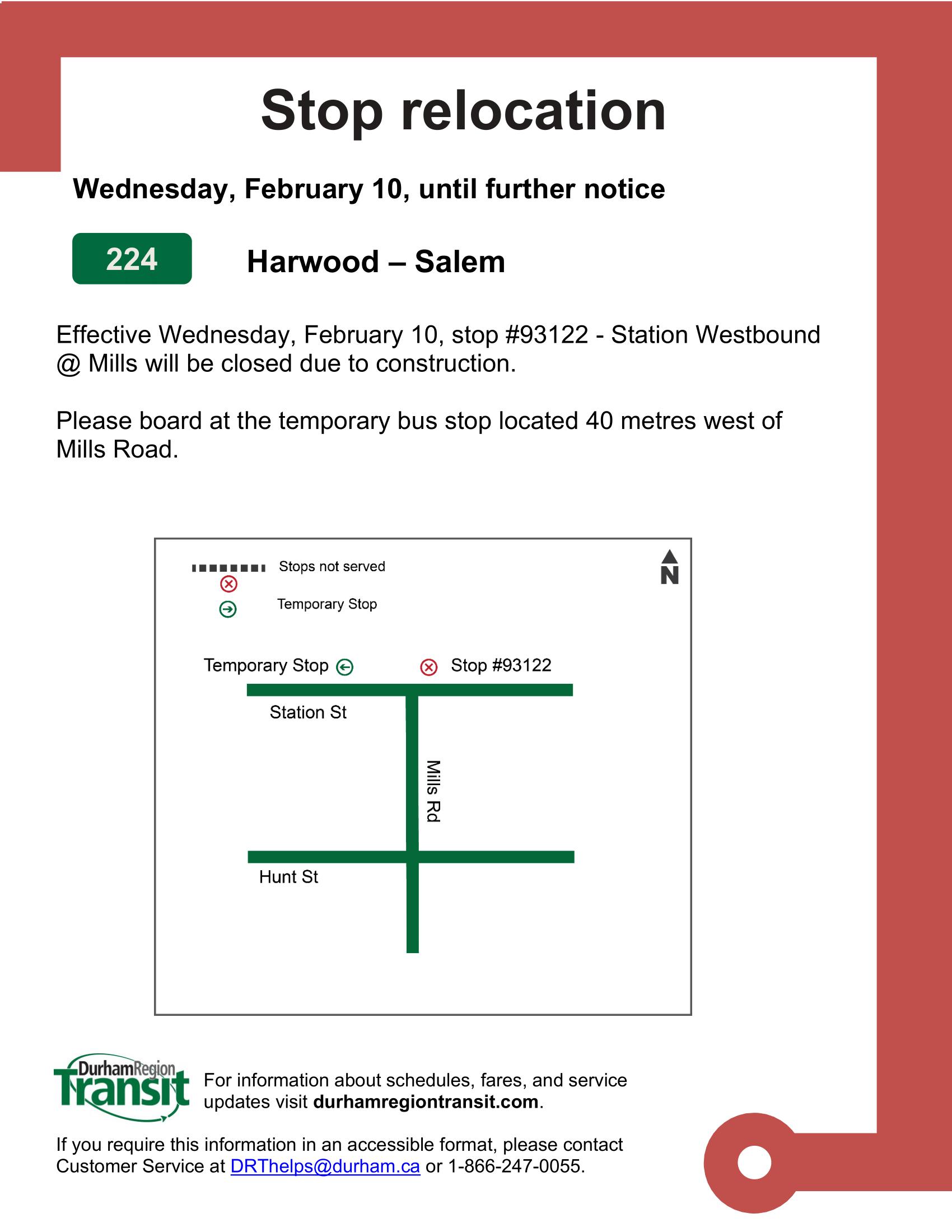 2021-02-09 stop # 93122 - Station Westbound @ Mills (002)-1