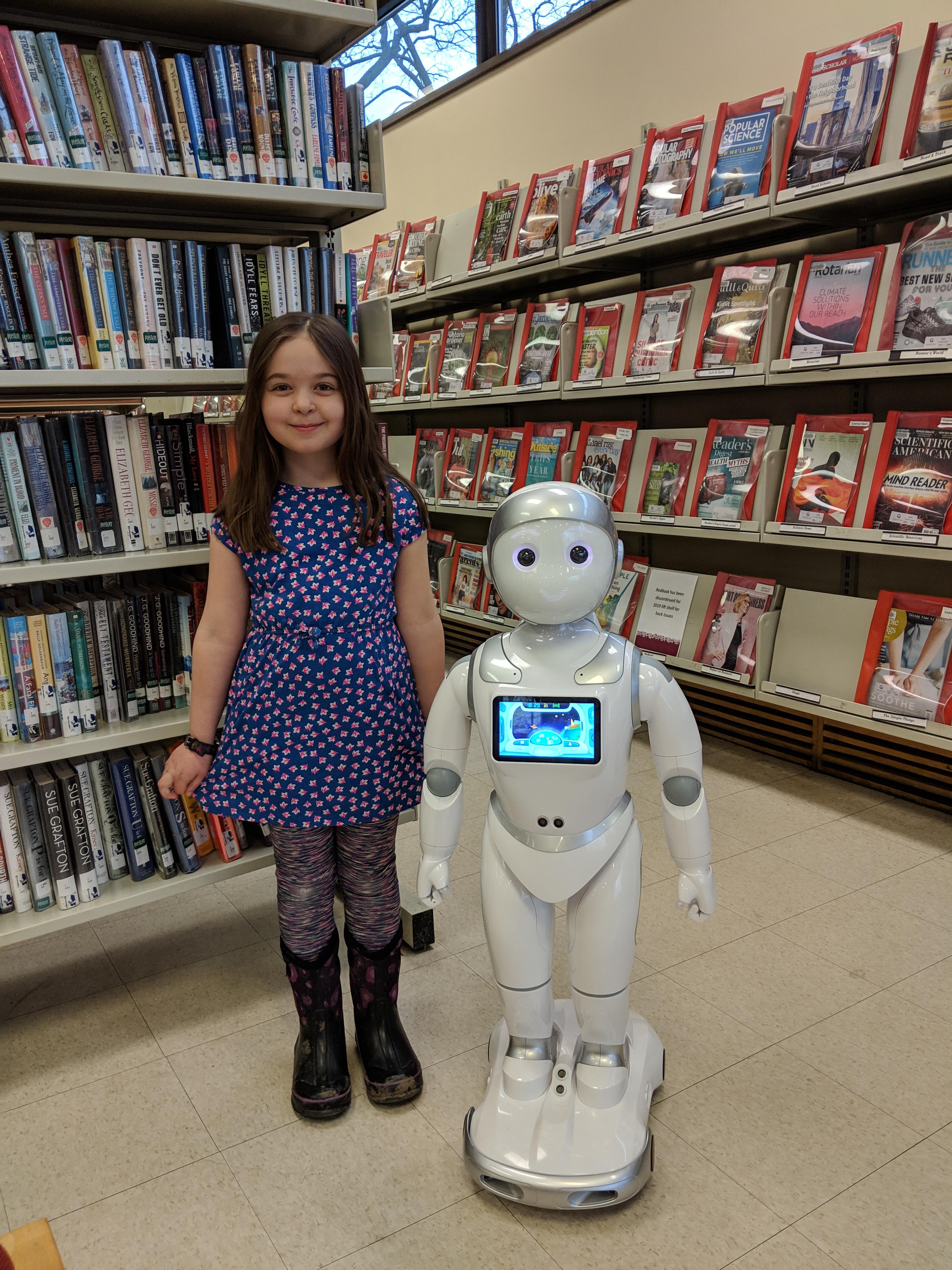 Meet Beepbot, the Library's New Robot Friend