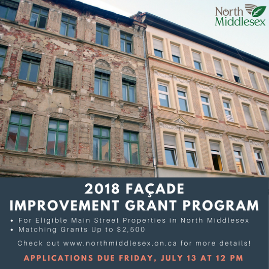 2018 Façade Improvement Grant Program