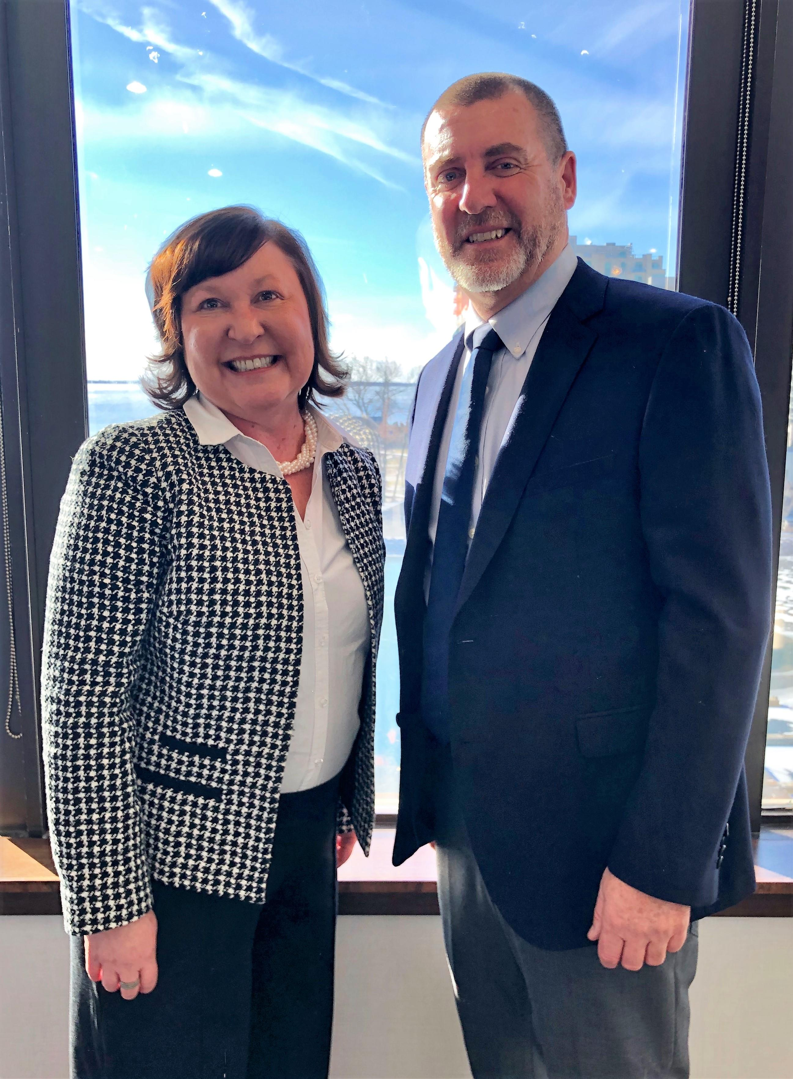 EOWC 2019 Chair, Andy Letham and Vice-Chair, Jennifer Murphy