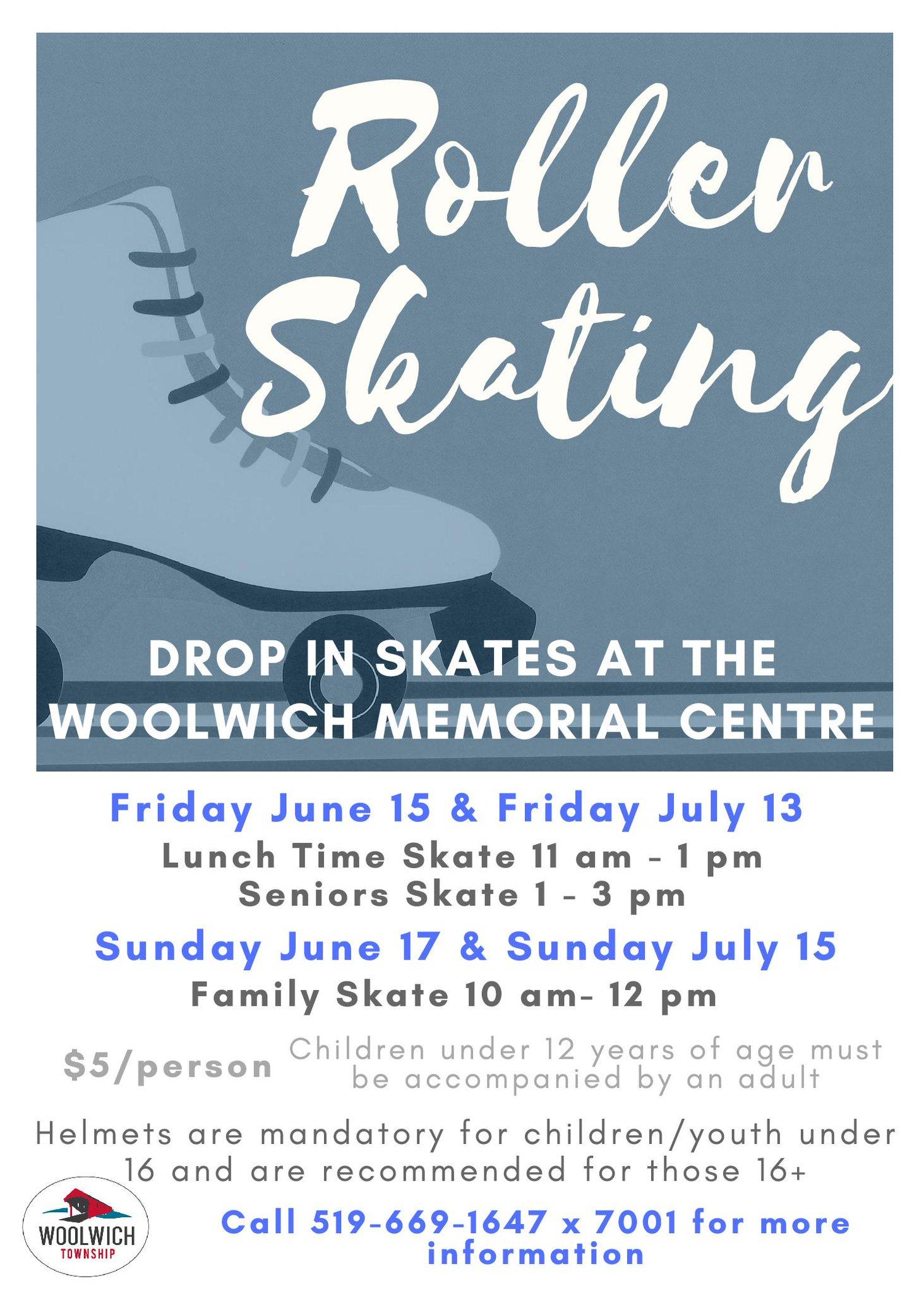 Roller Skating Flyer