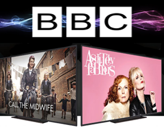 BBC logo and show images