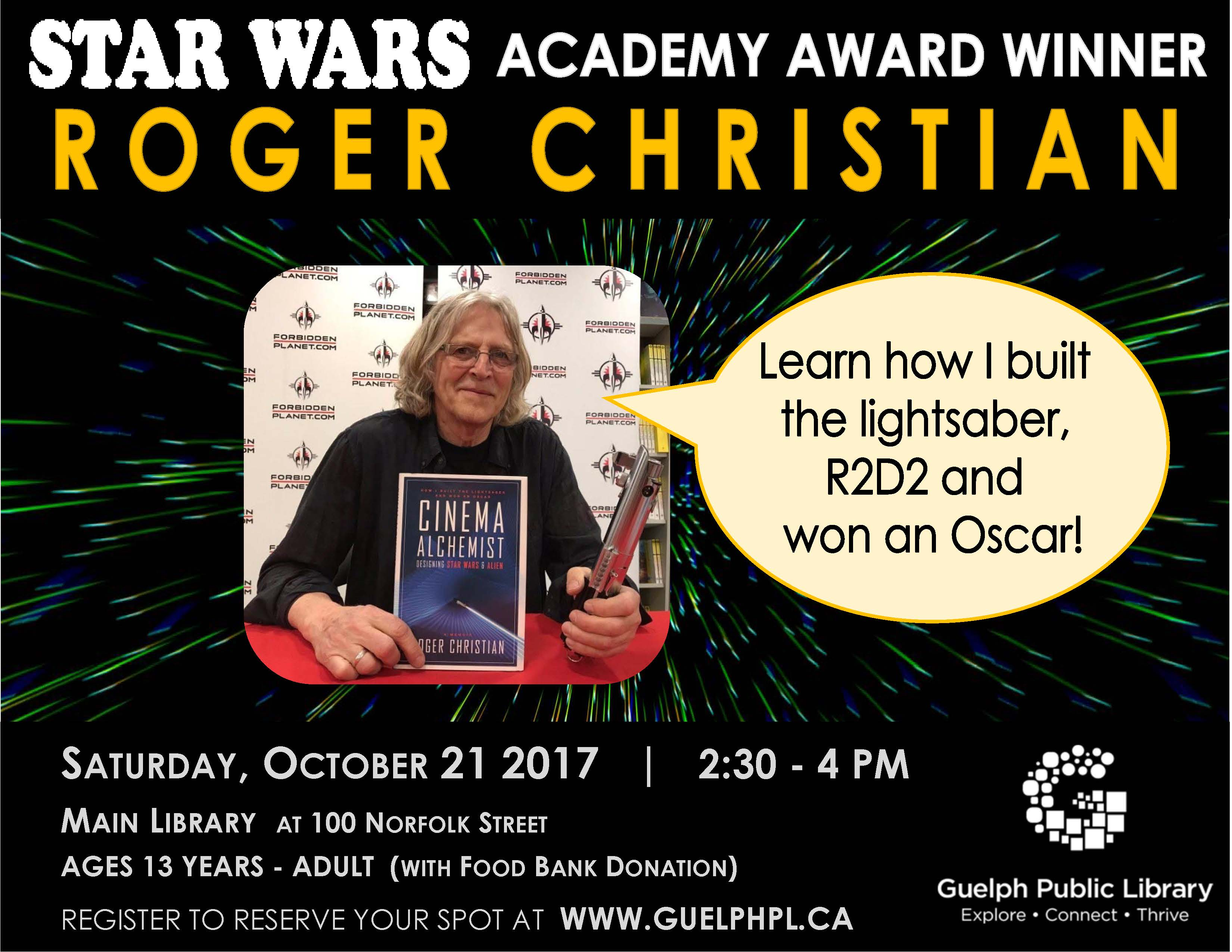 Meet Roger Christian, Star Wars Set decorator