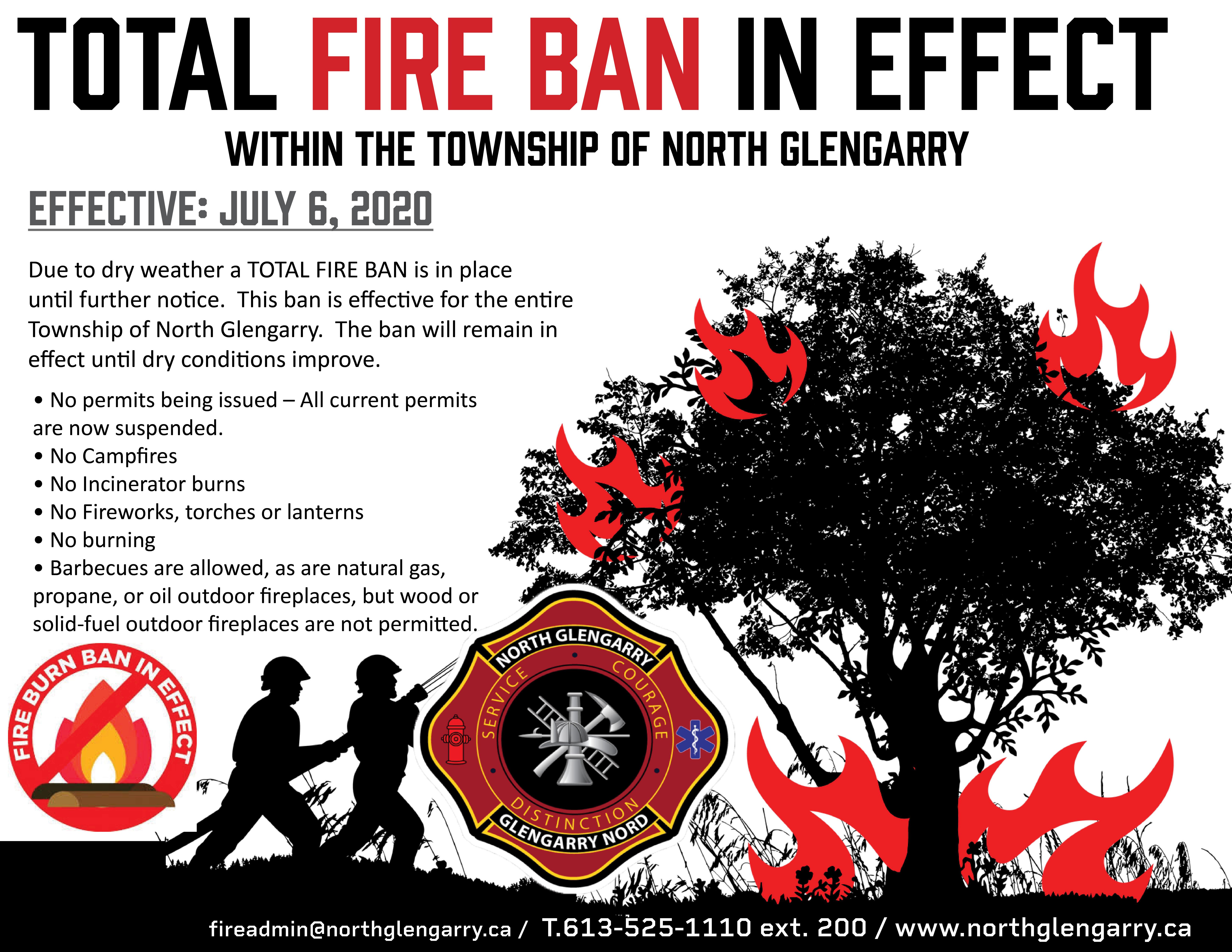 burn ban poster