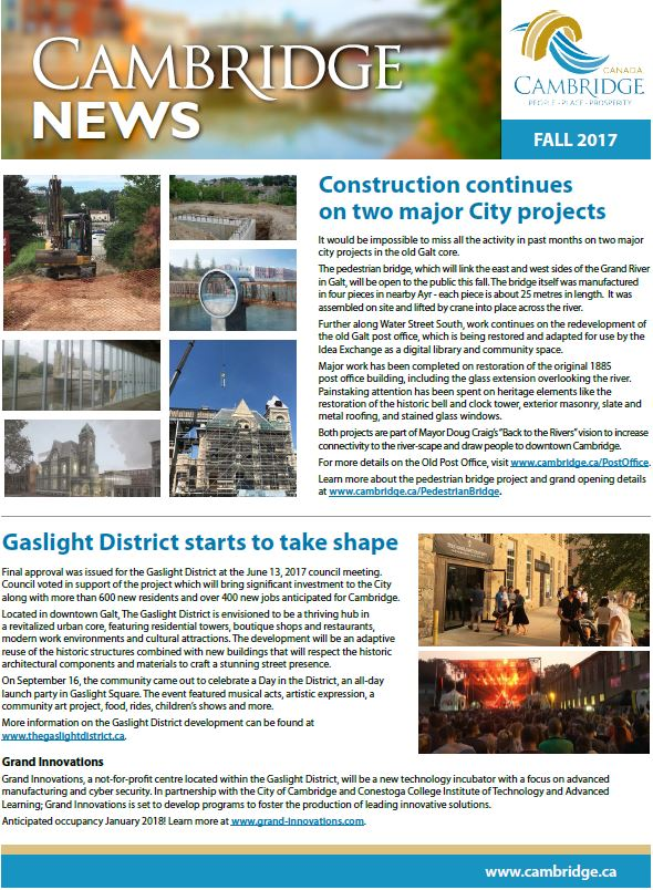 Cambridge News Fall 2017