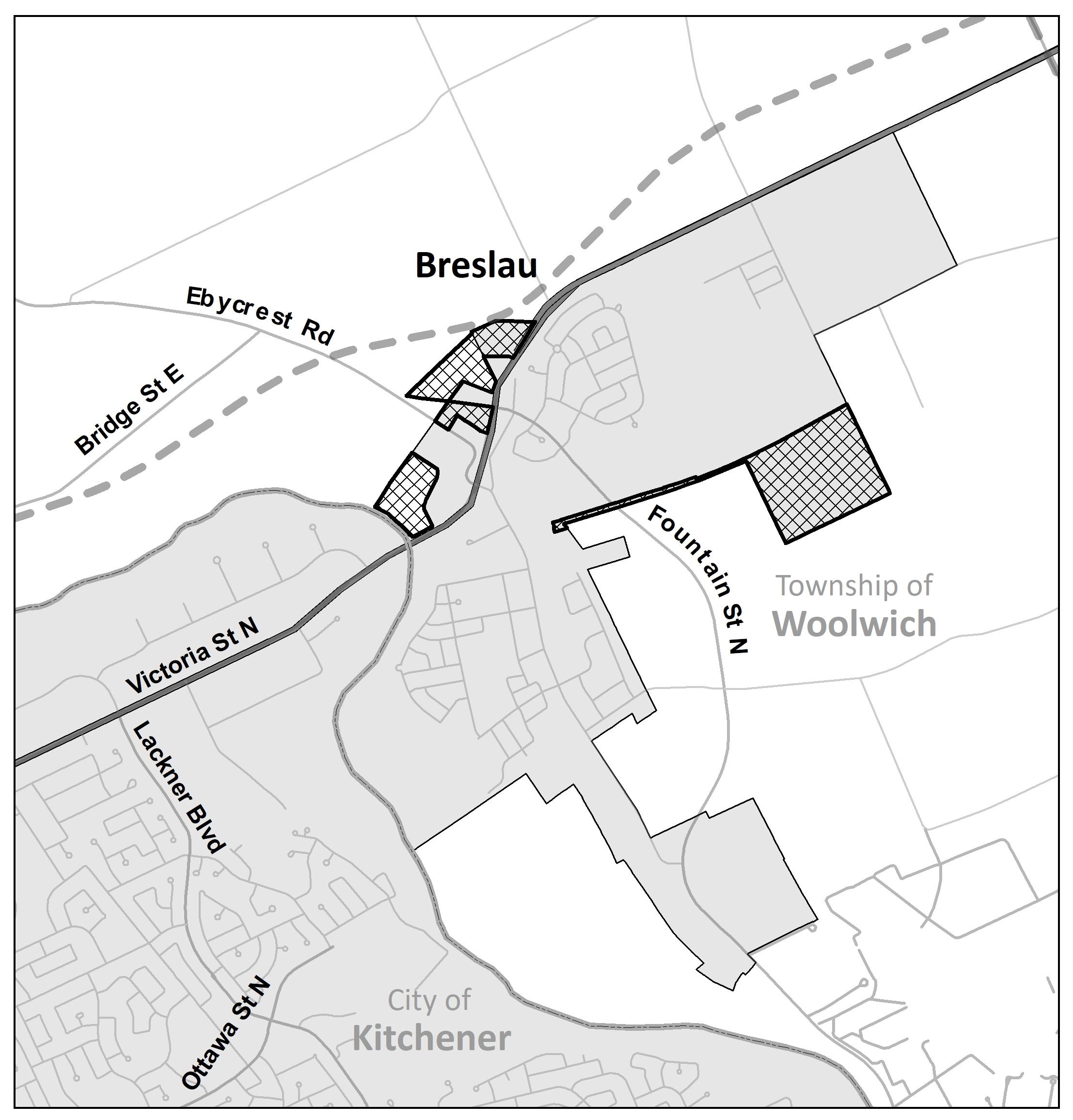 Breslau Map
